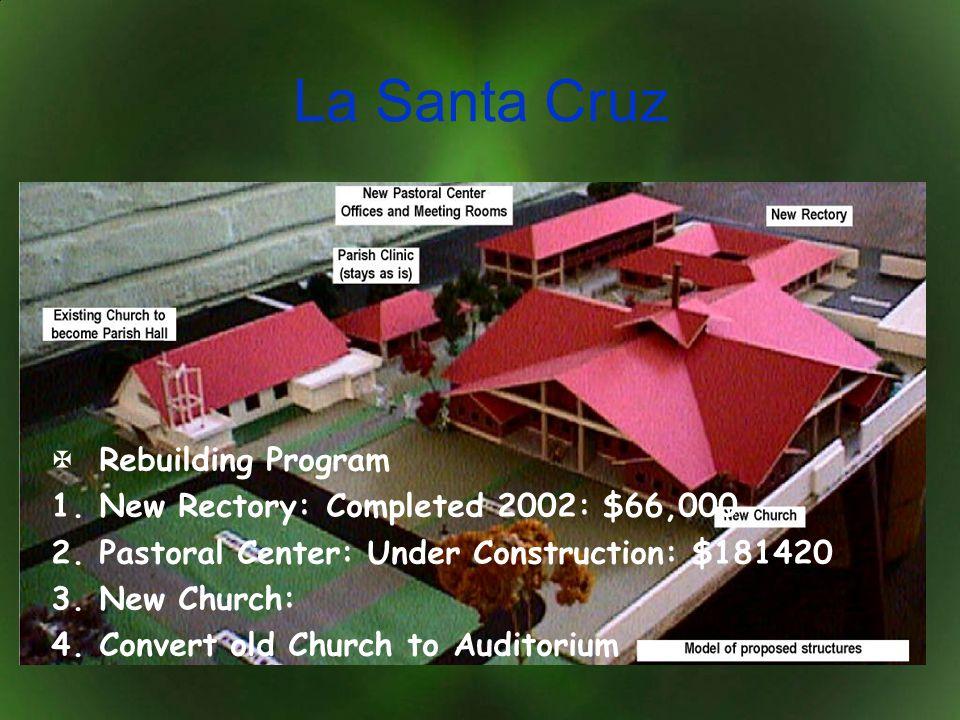 La Santa Cruz Rebuilding Program New Rectory: Completed 2002: $66,000