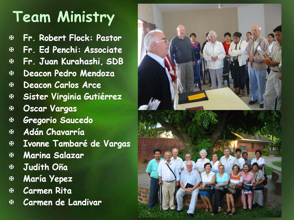 Team Ministry Fr. Robert Flock: Pastor Fr. Ed Penchi: Associate