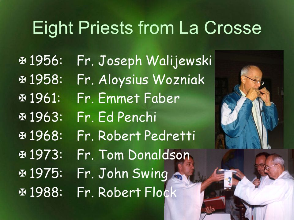 Eight Priests from La Crosse