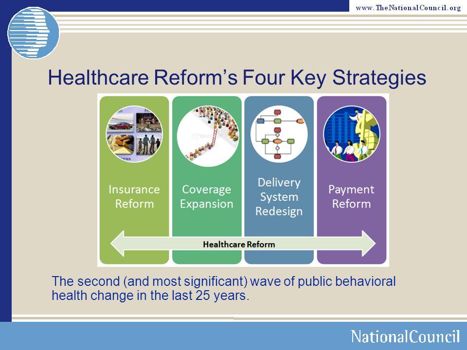 Healthcare Reform's Four Key Strategies