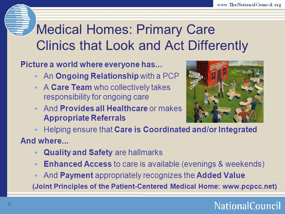 Medical Homes: Primary Care Clinics that Look and Act Differently