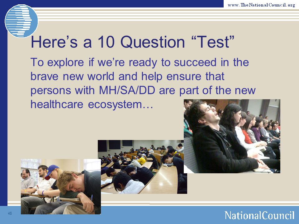 Here's a 10 Question Test