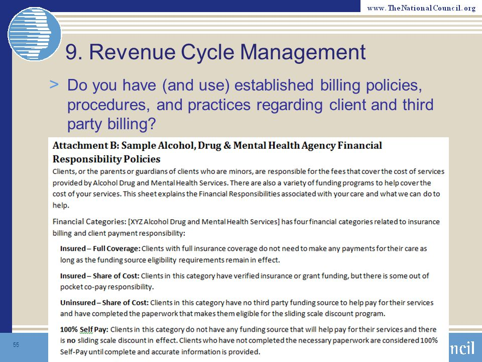 9. Revenue Cycle Management