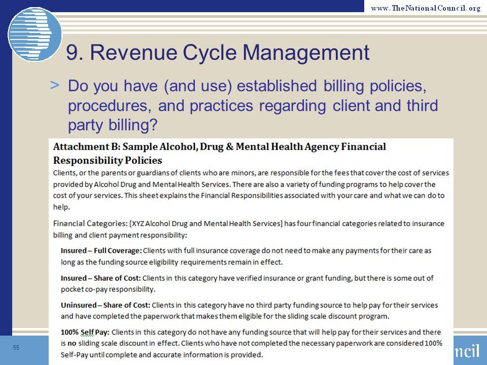 9. Revenue Cycle Management