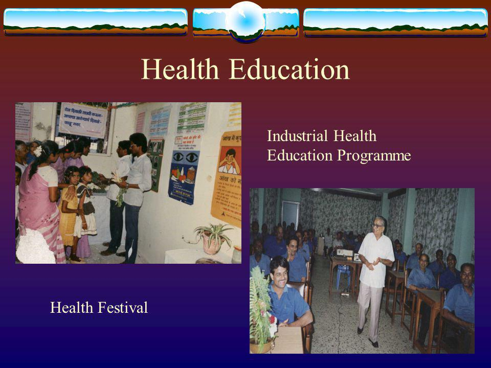 Health Education Industrial Health Education Programme Health Festival