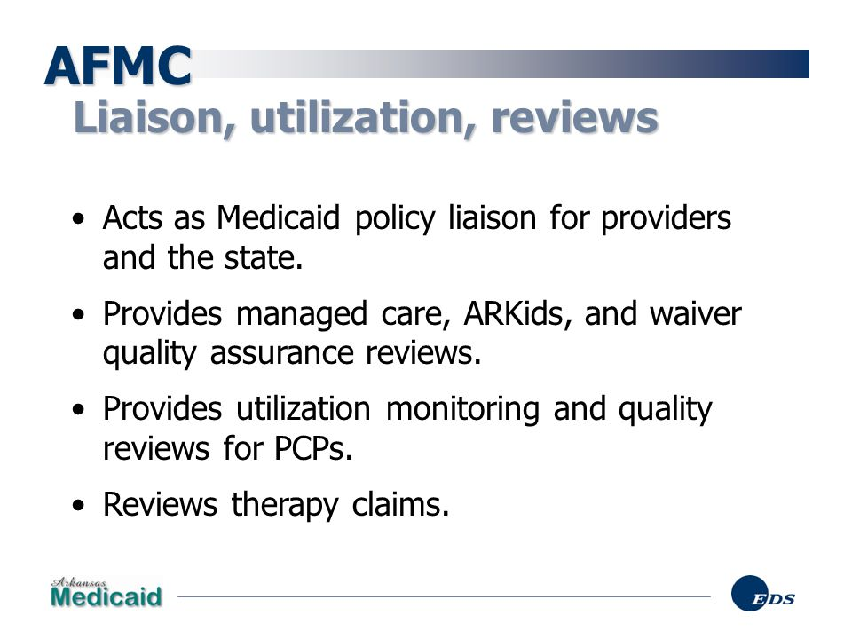 AFMC Liaison, utilization, reviews
