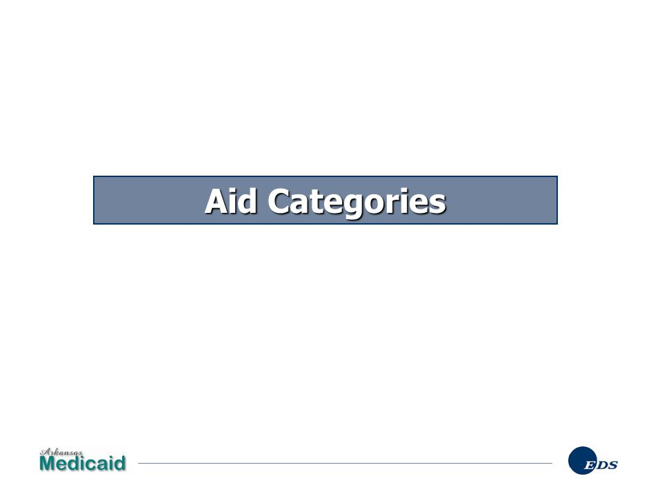 Aid Categories