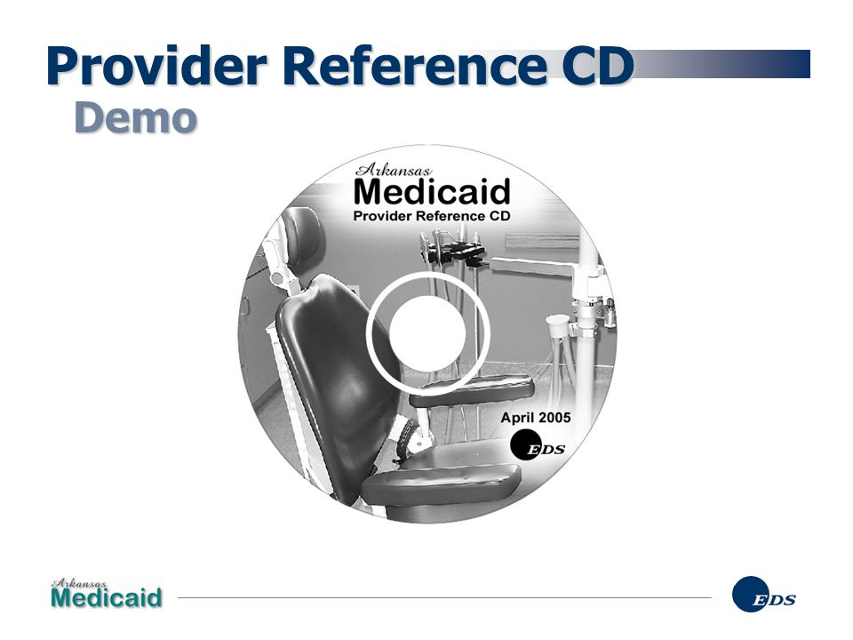 Provider Reference CD Demo