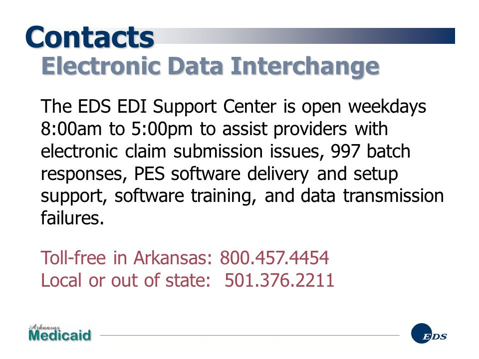 Contacts Electronic Data Interchange