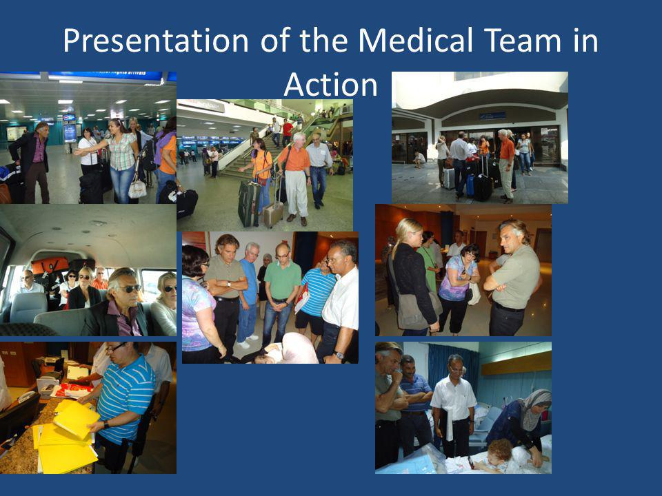 Presentation of the Medical Team in Action