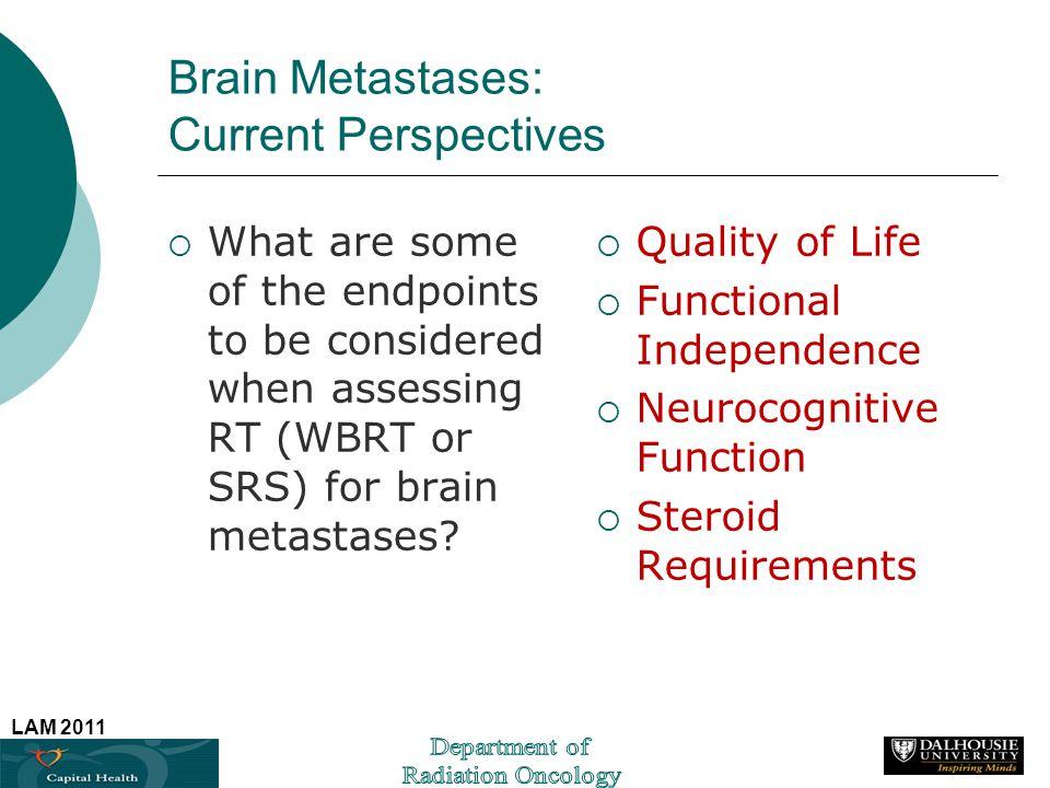 Brain Metastases: Current Perspectives