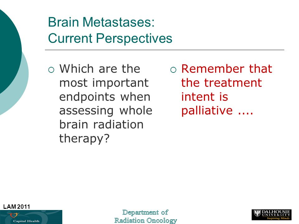 Brain Metastases: Current Perspectives