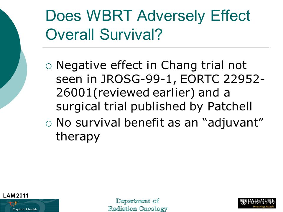 Does WBRT Adversely Effect Overall Survival