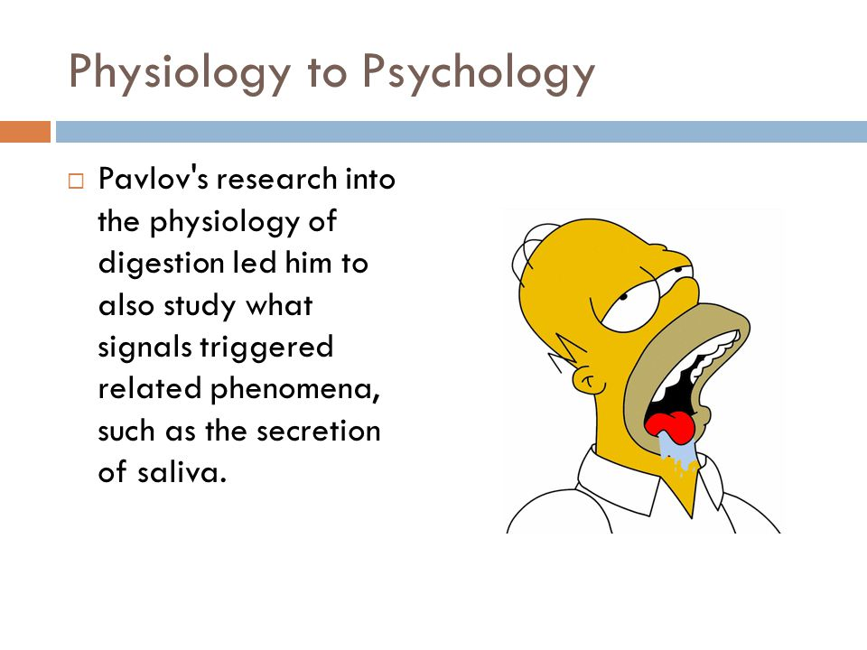 Physiology to Psychology