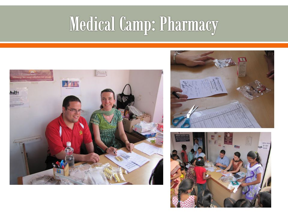 Medical Camp: Pharmacy