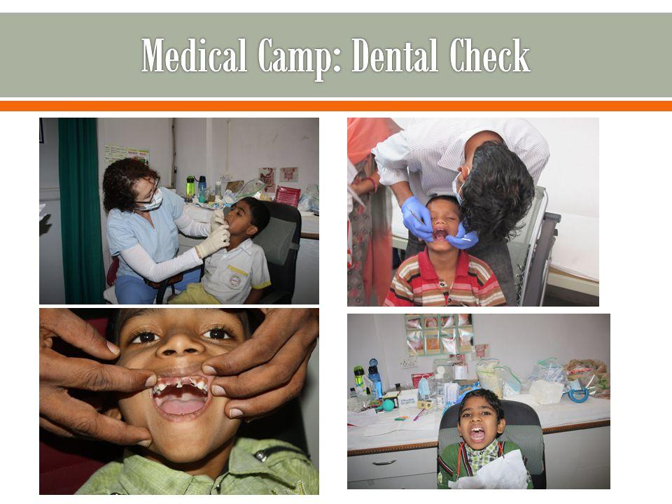 Medical Camp: Dental Check