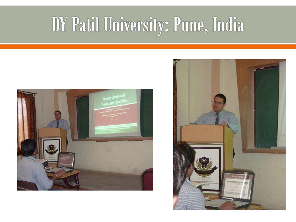 DY Patil University: Pune, India