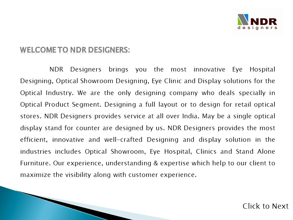 Welcome to NDR Designers:
