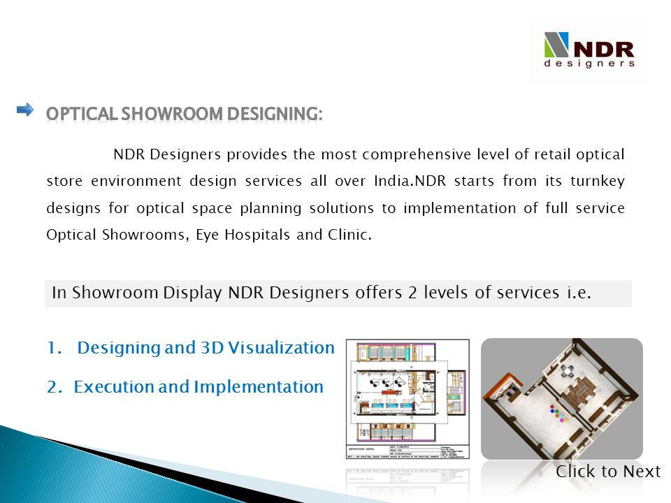 Optical Showroom Designing: