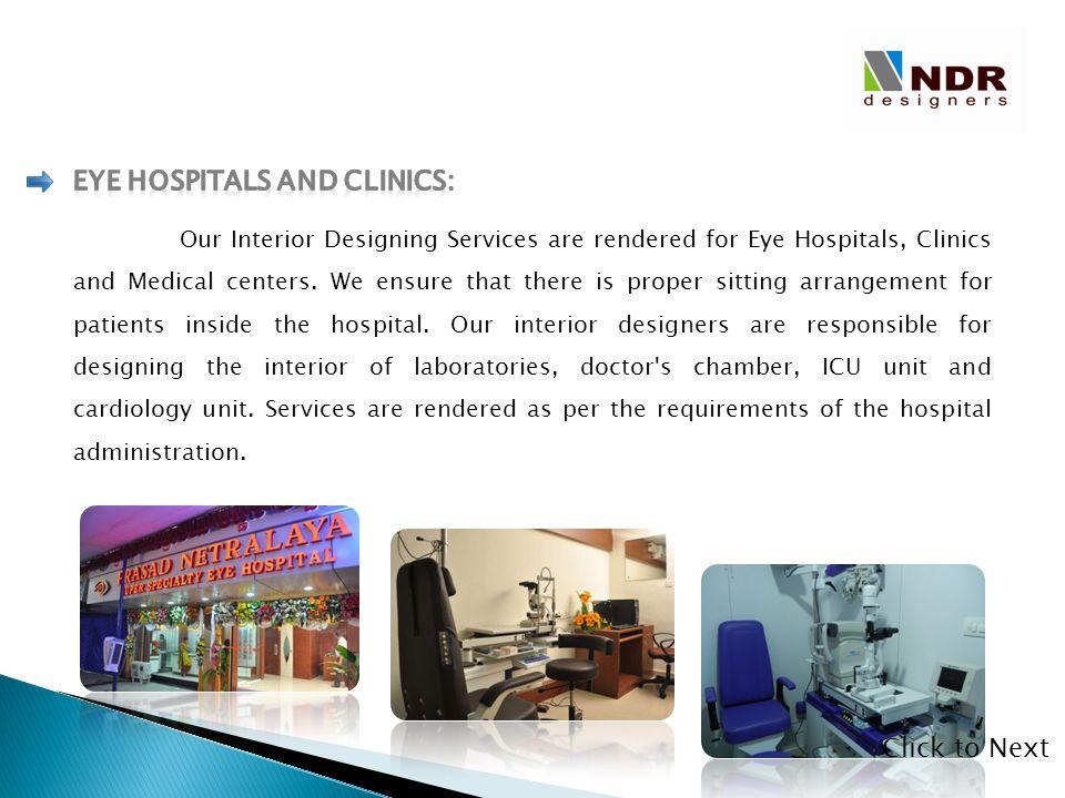 Eye Hospitals and Clinics: