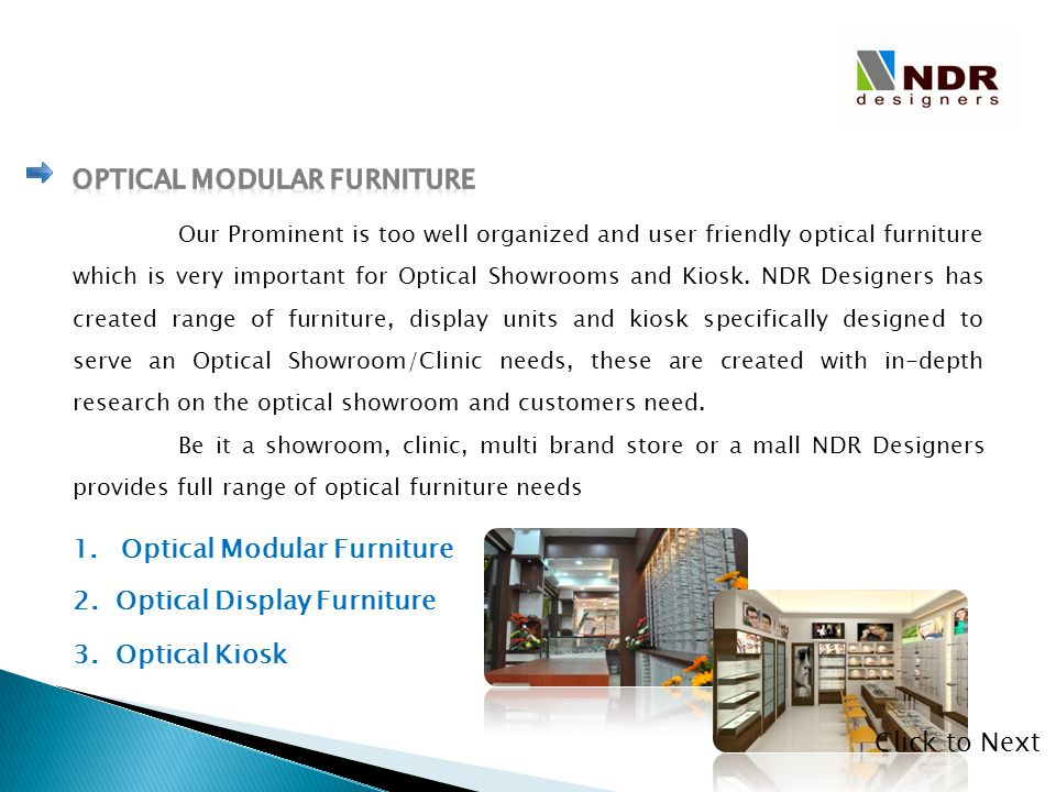 Optical Modular Furniture