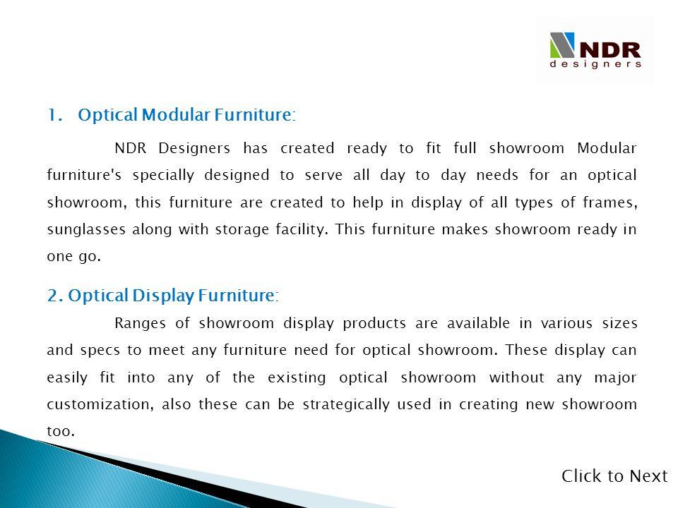 Optical Modular Furniture:
