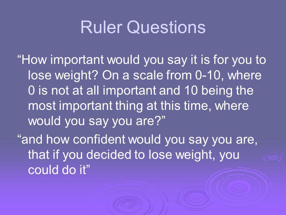 Ruler Questions