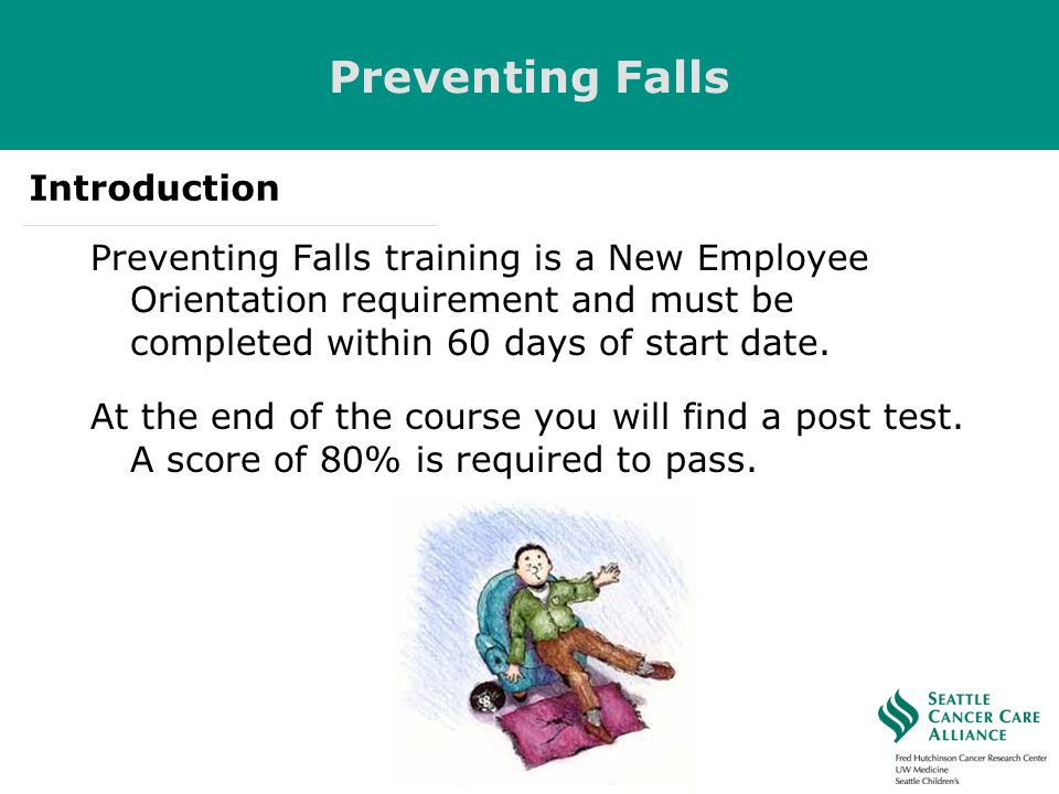 Preventing Falls Introduction