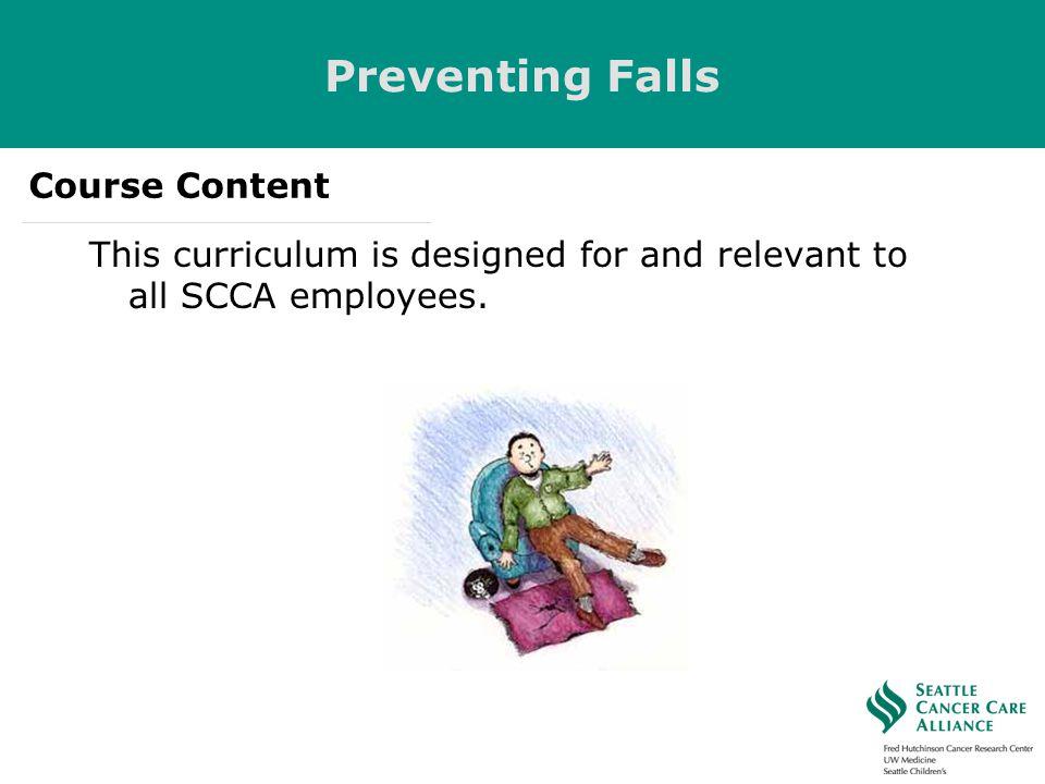 Preventing Falls Course Content