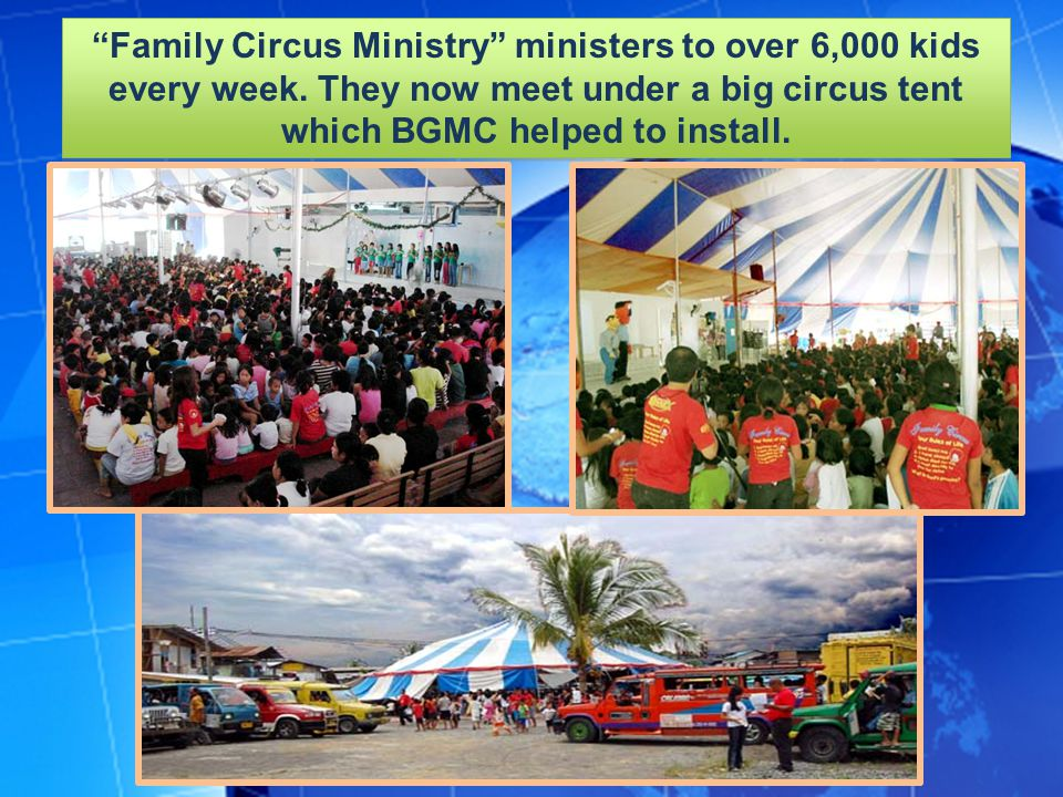 Family Circus Ministry ministers to over 6,000 kids every week