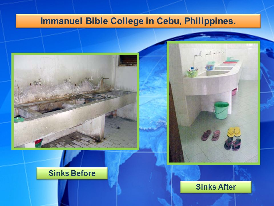 Immanuel Bible College in Cebu, Philippines.
