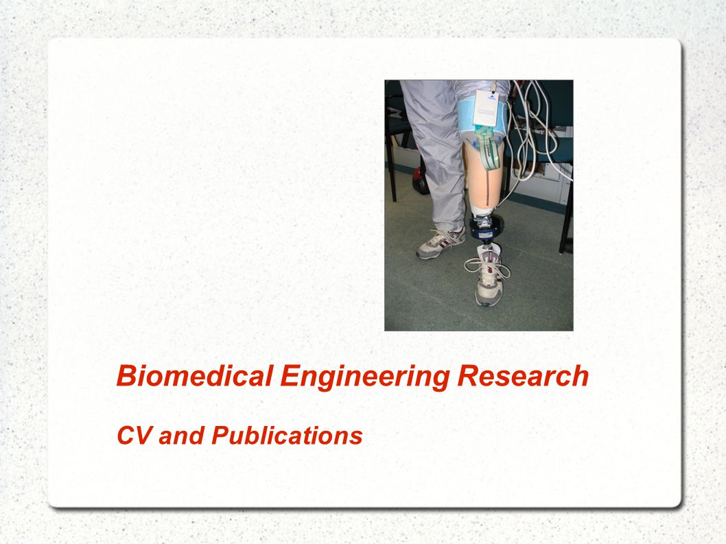 Biomedical Engineering Research