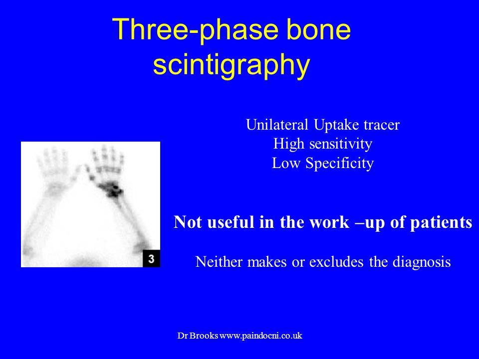 Three-phase bone scintigraphy