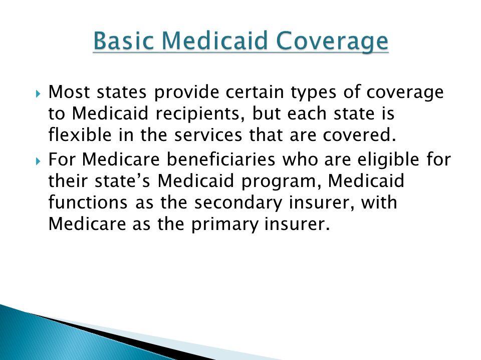 Basic Medicaid Coverage