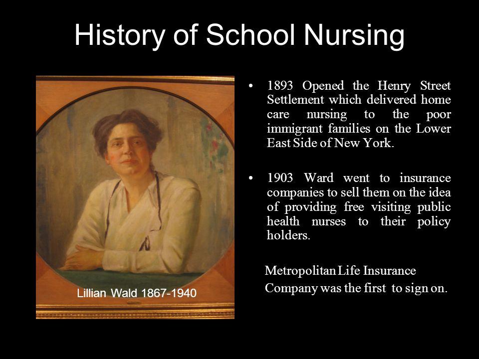 History of School Nursing