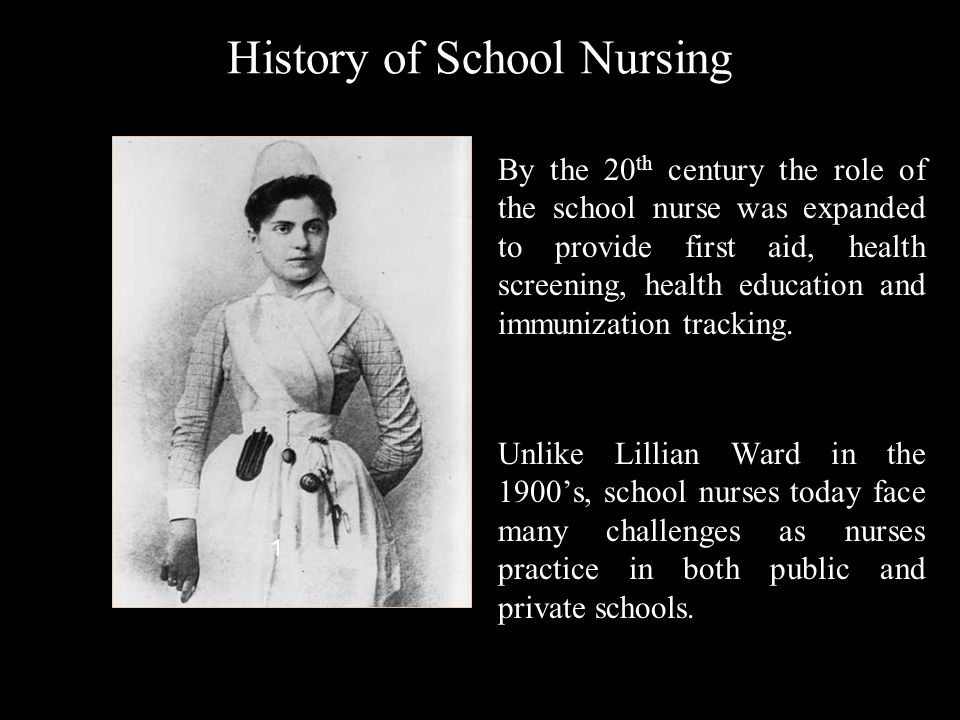 History of School Nursing