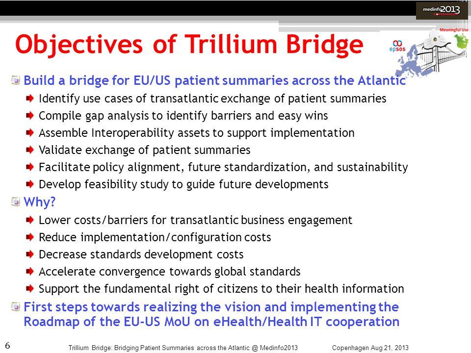 Objectives of Trillium Bridge