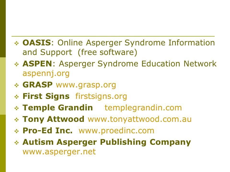 ASPEN: Asperger Syndrome Education Network aspennj.org