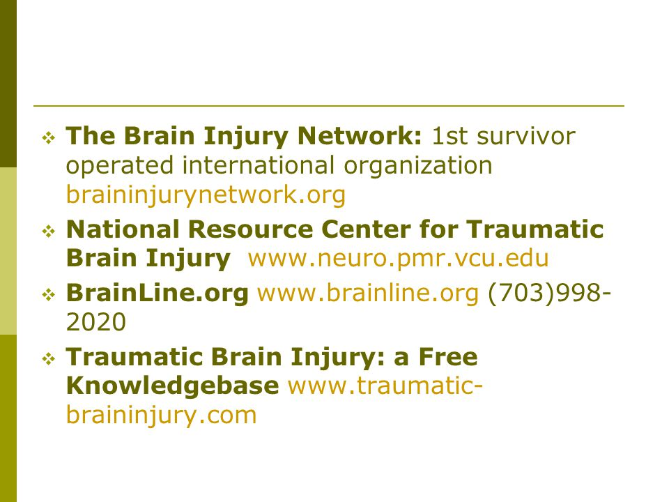BrainLine.org www.brainline.org (703)998-2020