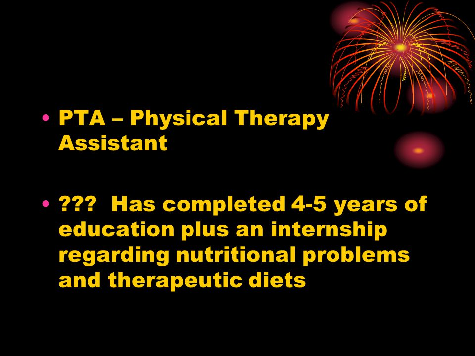 PTA – Physical Therapy Assistant