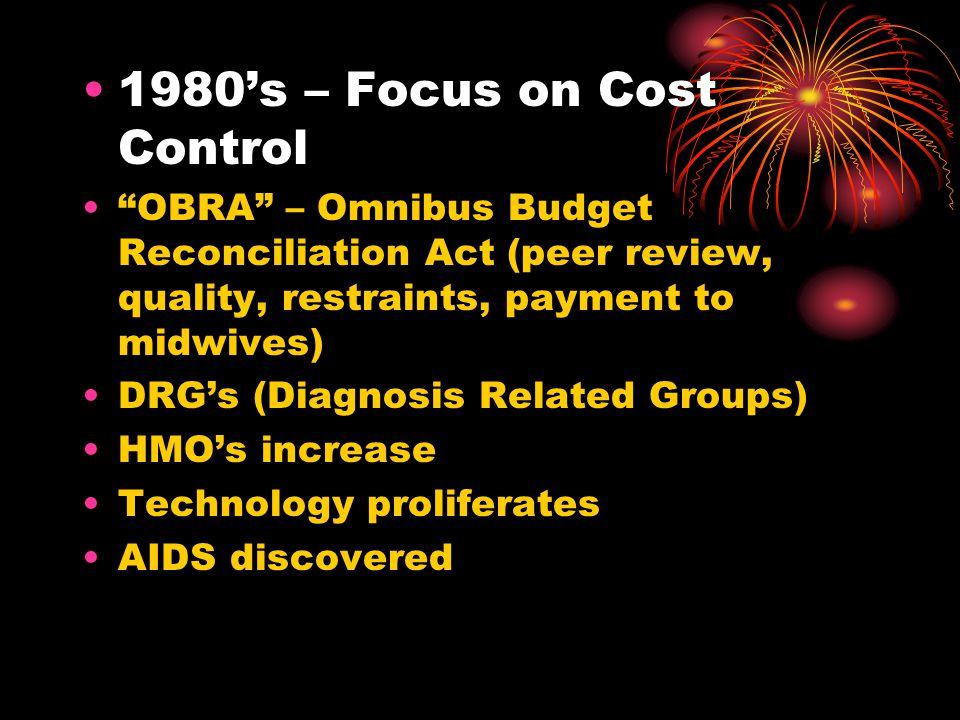 1980's – Focus on Cost Control