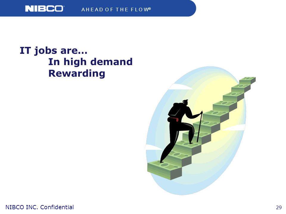 IT jobs are… In high demand Rewarding