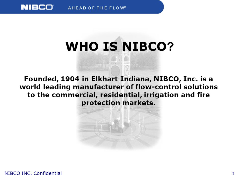 WHO IS NIBCO