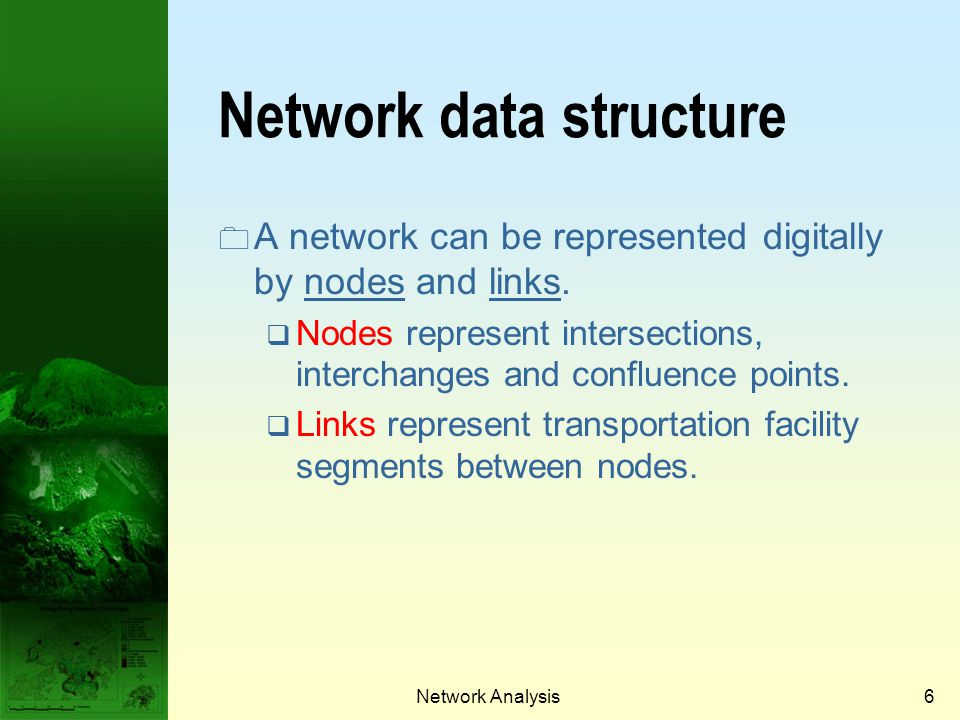 Network data structure