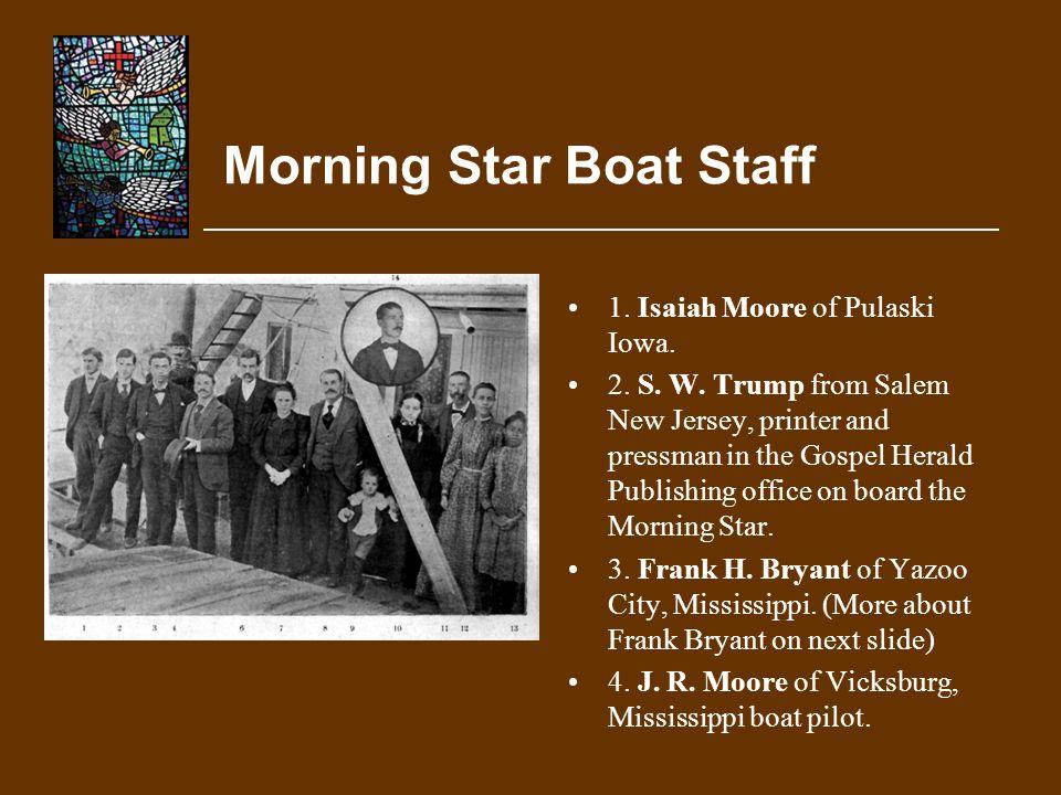 Morning Star Boat Staff