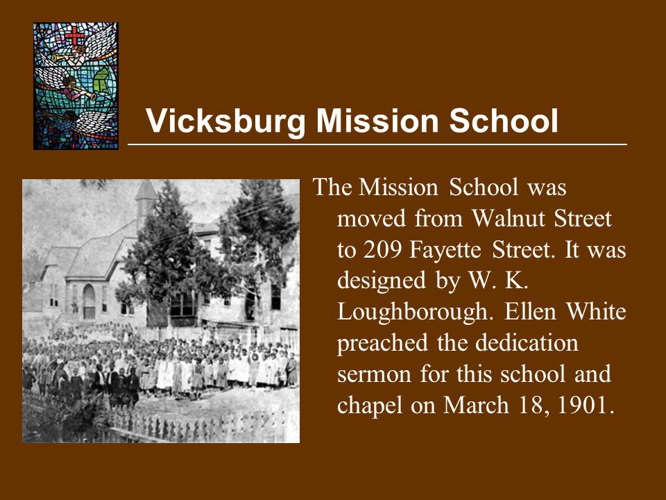 Vicksburg Mission School