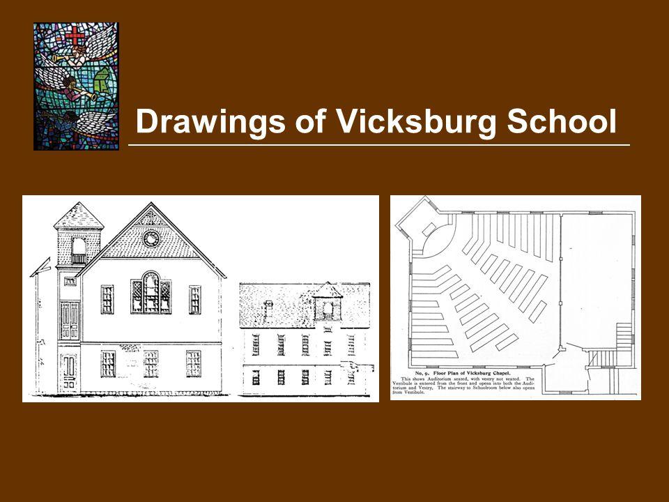 Drawings of Vicksburg School