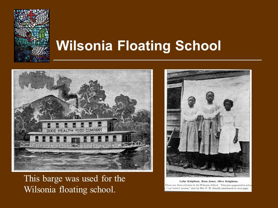 Wilsonia Floating School