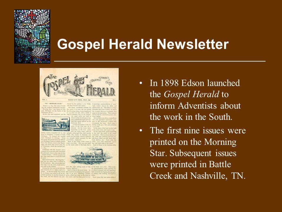 Gospel Herald Newsletter