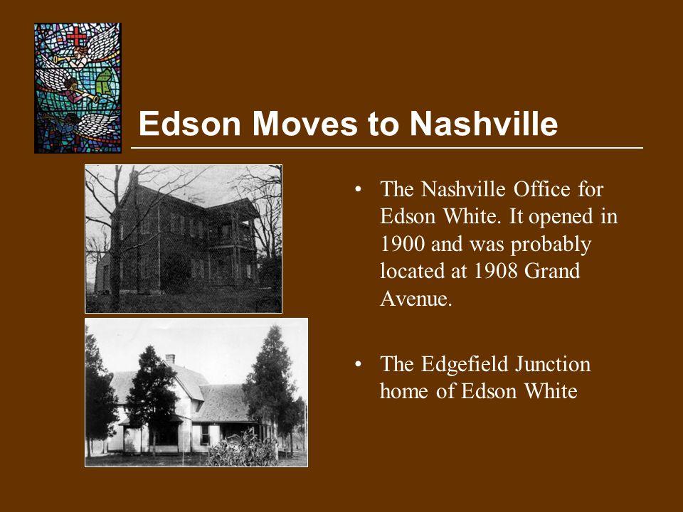 Edson Moves to Nashville